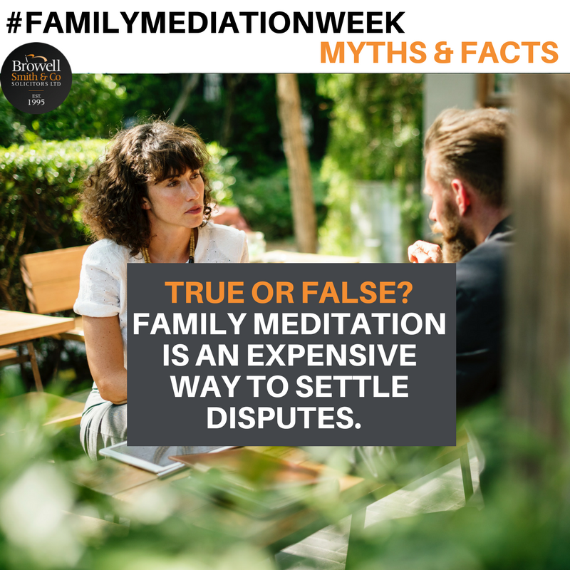 Family Mediation Week Separating The Fact From Fiction About Mediation